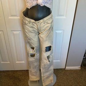 J Brand tie dye jeans